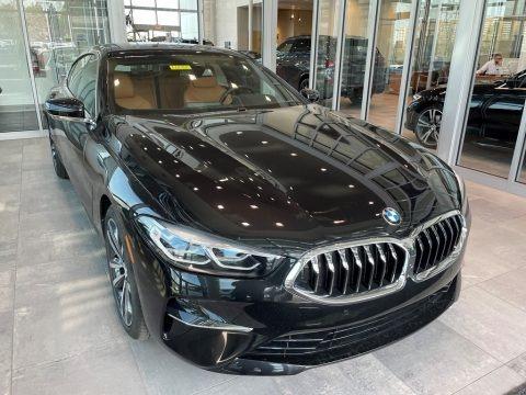 Black Sapphire Metallic 2021 BMW 8 Series 840i xDrive Gran Coupe