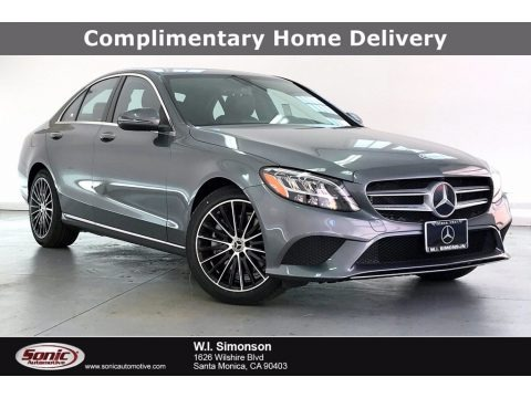 Selenite Gray Metallic 2021 Mercedes-Benz C 300 Sedan