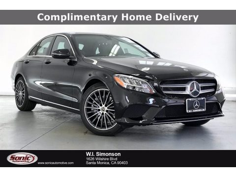 Black 2021 Mercedes-Benz C 300 Sedan