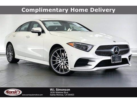 designo Diamond White Metallic 2021 Mercedes-Benz CLS 450 Coupe