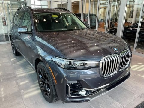 Arctic Gray Metallic 2021 BMW X7 xDrive40i