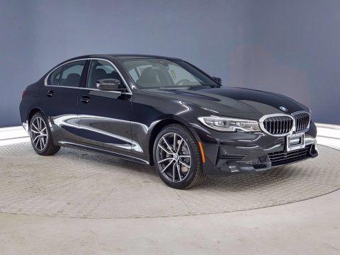 Jet Black 2021 BMW 3 Series 330i Sedan
