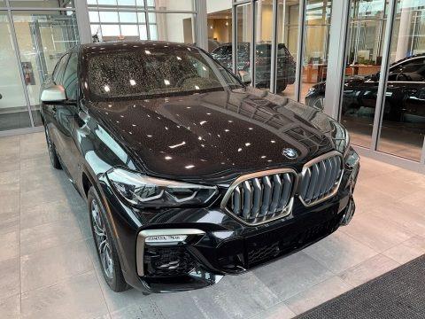 Black Sapphire Metallic 2021 BMW X6 xDrive50i