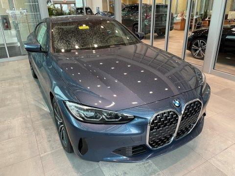 Arctic Race Blue Metallic 2021 BMW 4 Series 430i xDrive Coupe
