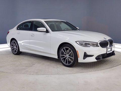 Mineral White Metallic 2021 BMW 3 Series 330i Sedan