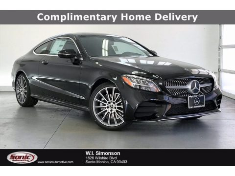 Black 2021 Mercedes-Benz C 300 Coupe