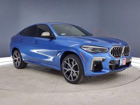Riverside Blue Metallic 2020 BMW X6 M50i