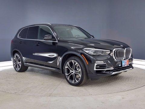 Jet Black 2021 BMW X5 sDrive40i
