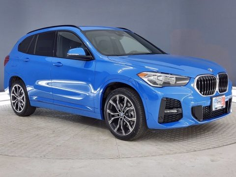 Misano Blue Metallic 2021 BMW X1 sDrive28i
