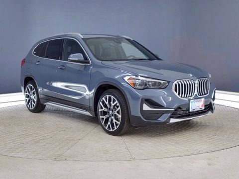 Storm Bay Metallic 2021 BMW X1 sDrive28i