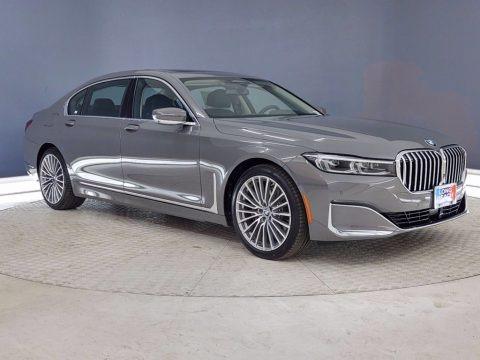 Bernina Gray Amber Effect 2021 BMW 7 Series 740i Sedan