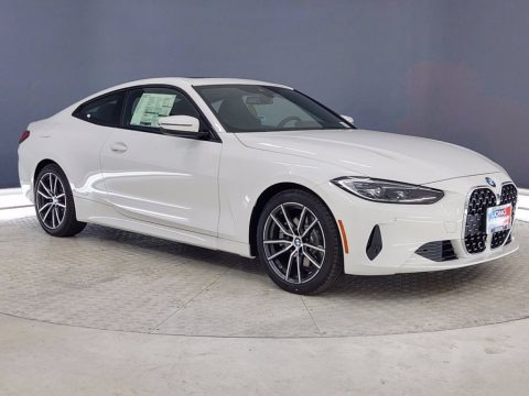 Alpine White 2021 BMW 4 Series 430i Coupe