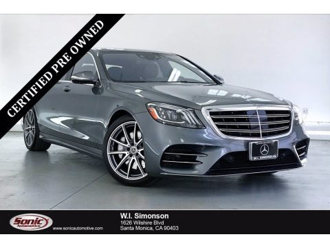 Selenite Grey Metallic 2019 Mercedes-Benz S 560 Sedan