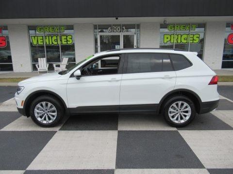 Pure White 2020 Volkswagen Tiguan S