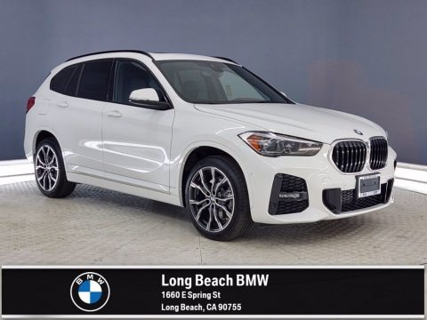Alpine White 2021 BMW X1 sDrive28i