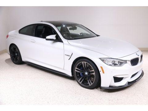 Mineral White Metallic 2016 BMW M4 Coupe