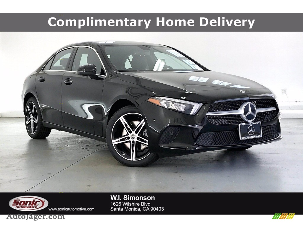 2021 A 220 Sedan - Night Black / Black photo #1