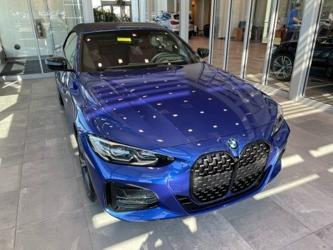 Portimao Blue Metallic 2021 BMW 4 Series 430i Convertible