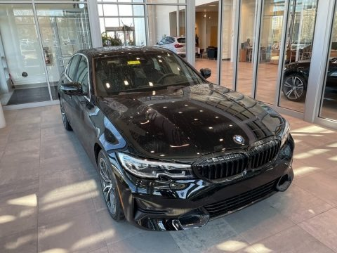 Jet Black 2021 BMW 3 Series 330i xDrive Sedan
