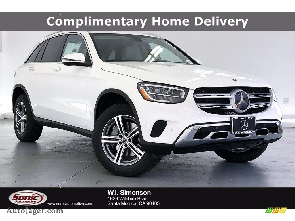 2021 GLC 300 - Polar White / Silk Beige/Black photo #1