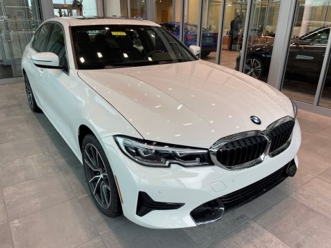 Alpine White 2021 BMW 3 Series 330i xDrive Sedan