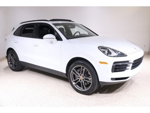 Carrara White Metallic 2019 Porsche Cayenne S