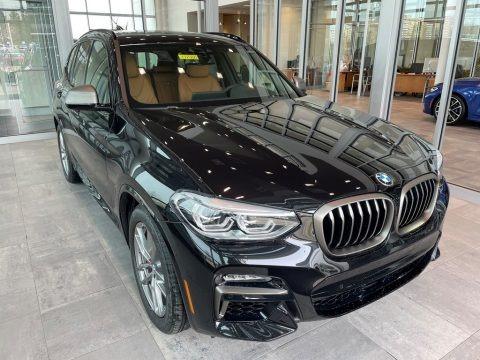 Black Sapphire Metallic 2021 BMW X3 M40i