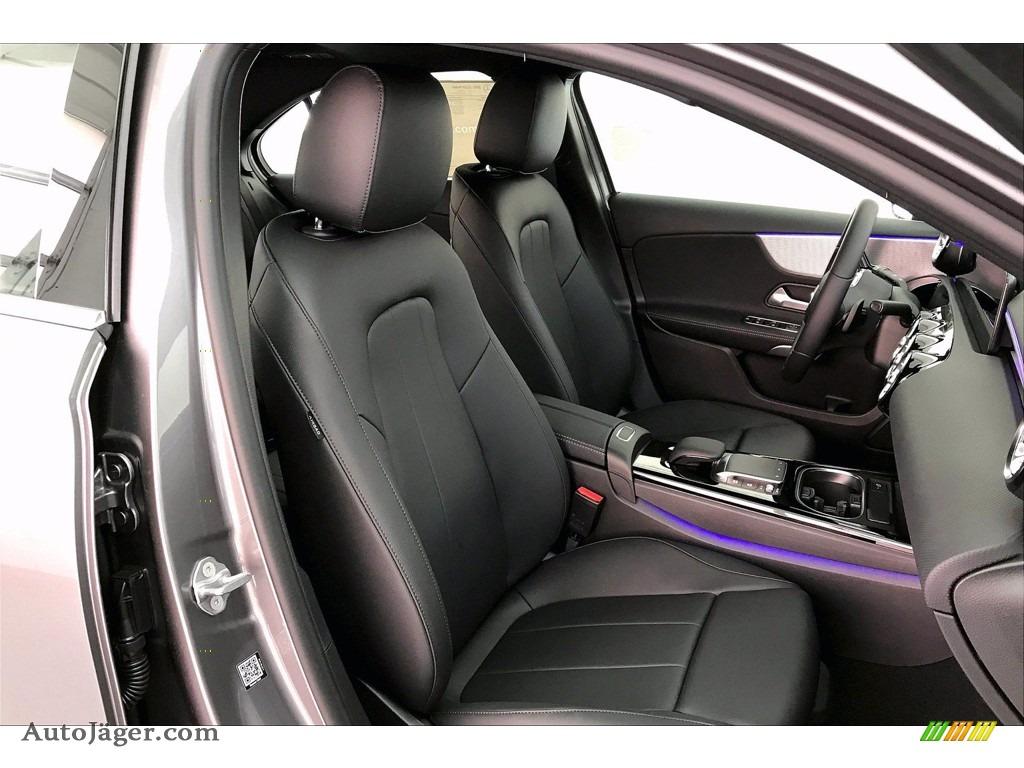 2021 A 220 Sedan - Mountain Grey Metallic / Black photo #5