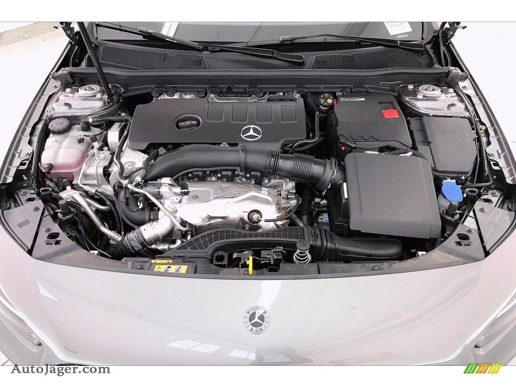 2021 A 220 Sedan - Mountain Grey Metallic / Black photo #9