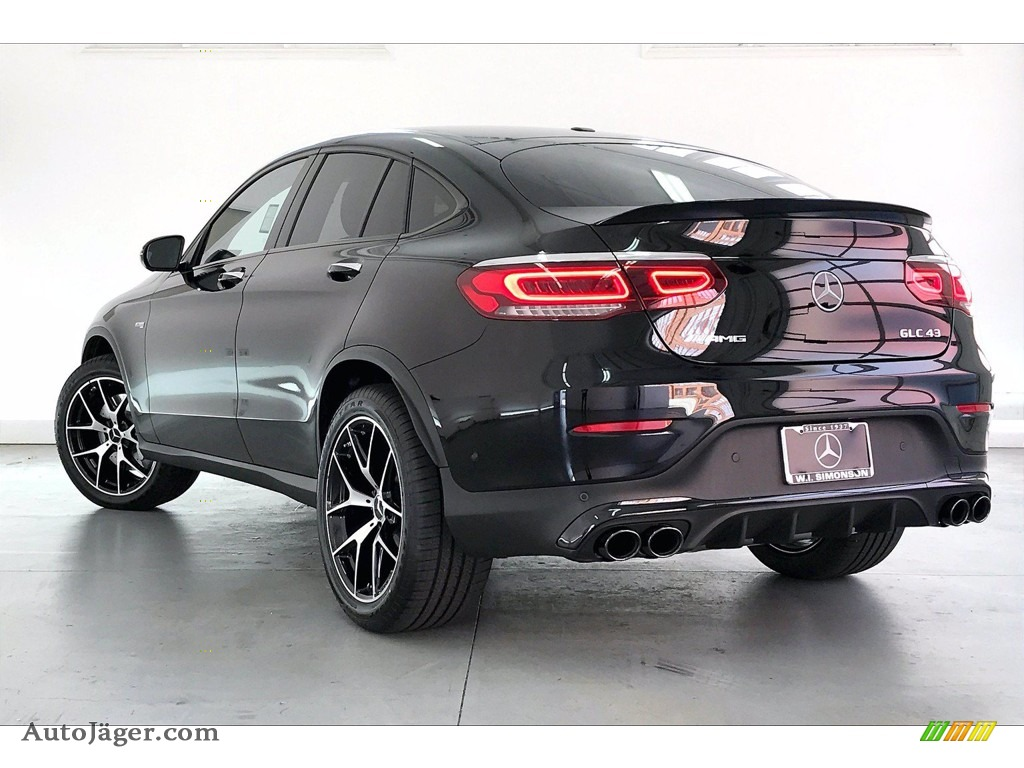 2021 GLC AMG 43 4Matic Coupe - Black / Black photo #2