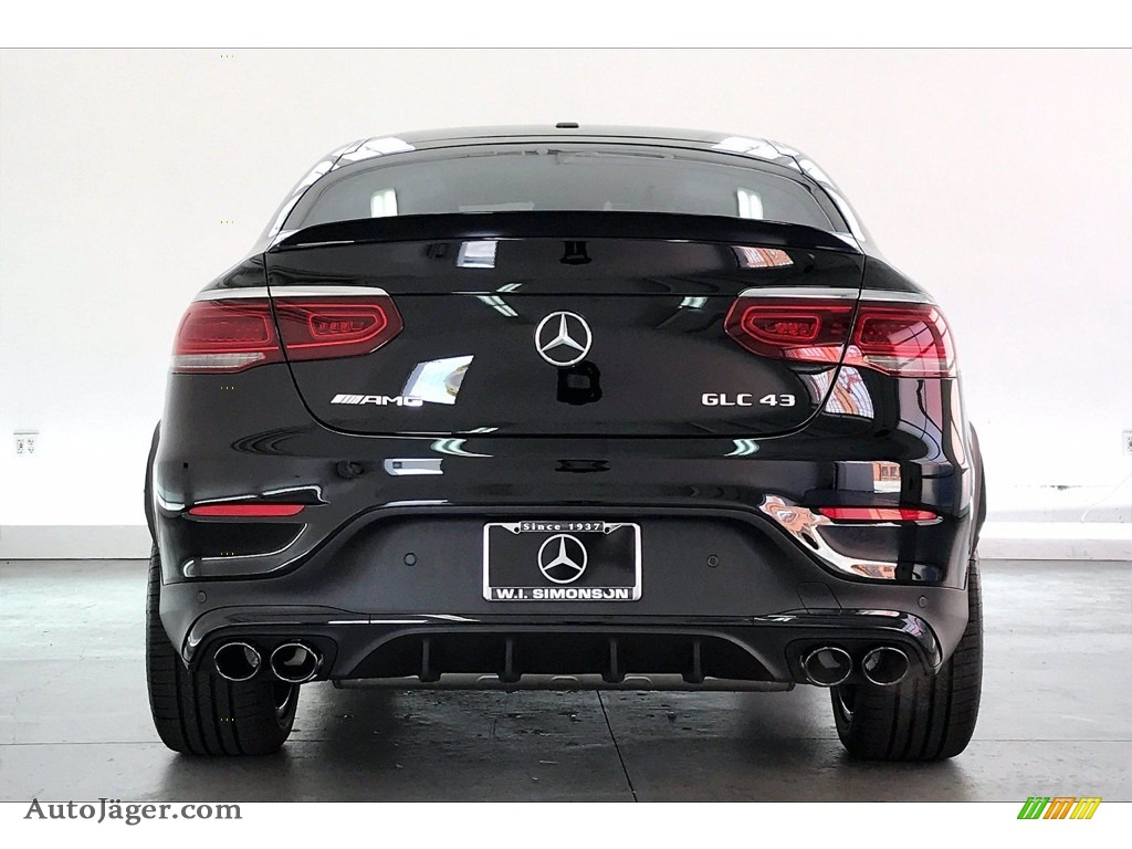 2021 GLC AMG 43 4Matic Coupe - Black / Black photo #3