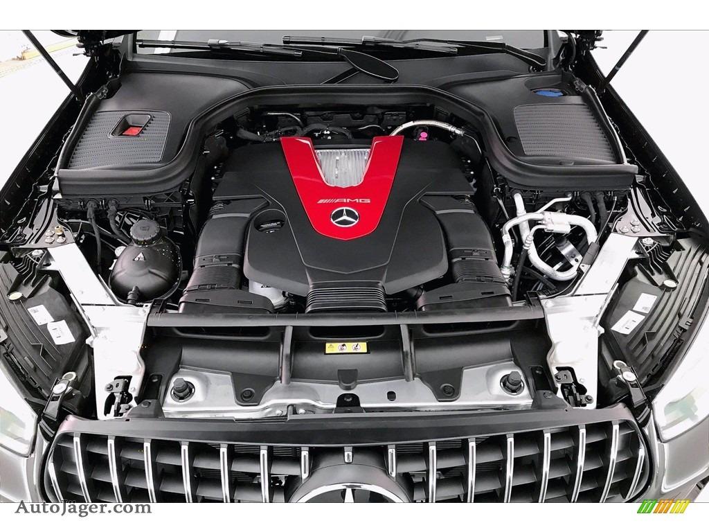 2021 GLC AMG 43 4Matic Coupe - Black / Black photo #9
