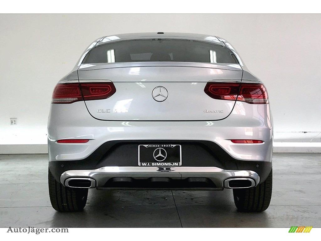 2021 GLC 300 4Matic Coupe - Cirrus Silver Metallic / Black photo #3