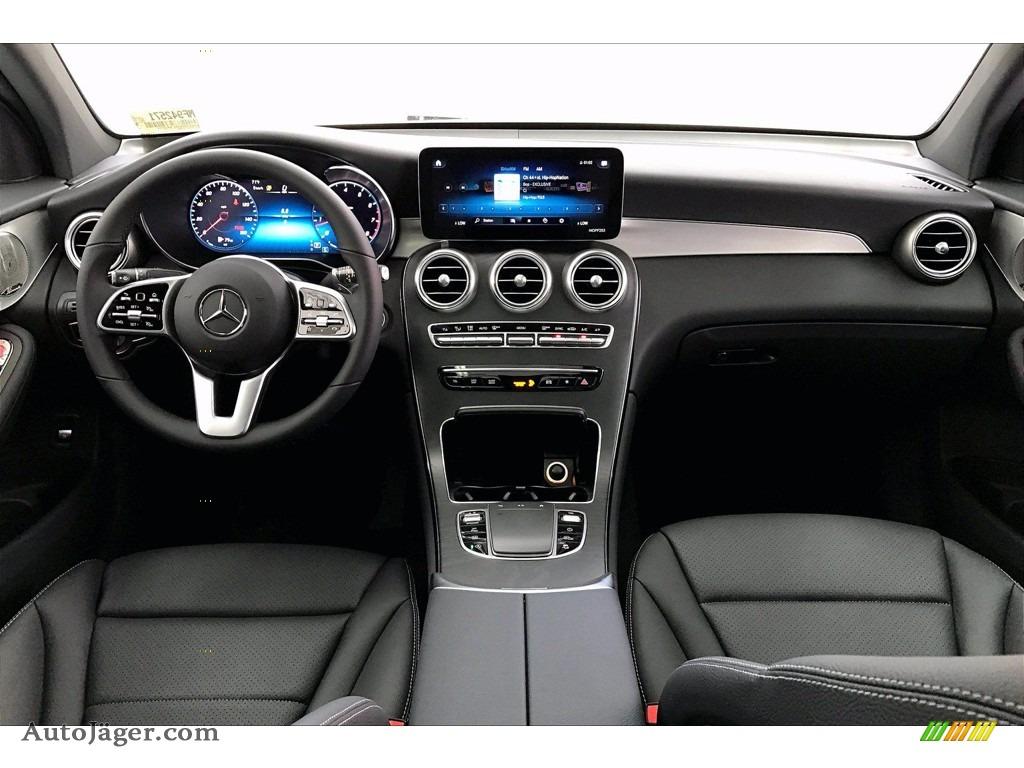 2021 GLC 300 4Matic Coupe - Cirrus Silver Metallic / Black photo #6