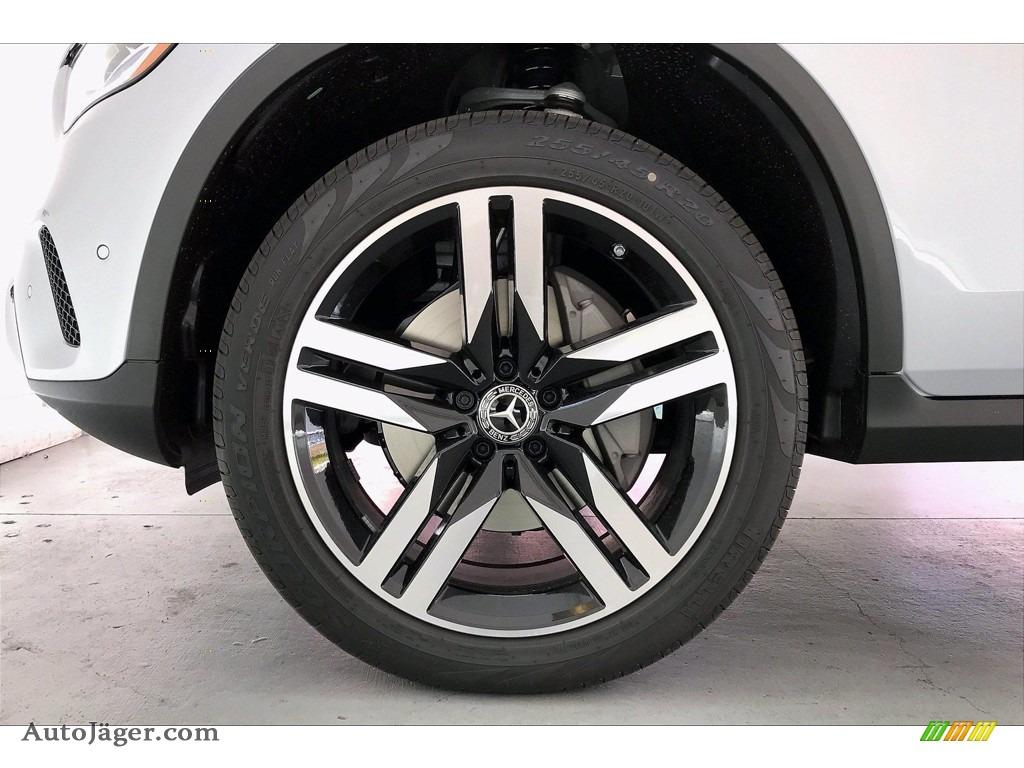 2021 GLC 300 4Matic Coupe - Cirrus Silver Metallic / Black photo #10