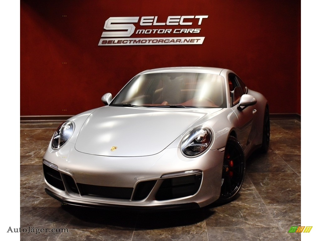 2019 911 Carrera GTS Coupe - GT Silver Metallic / Bordeaux Red photo #1