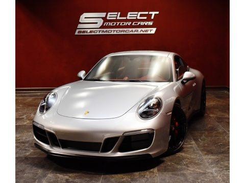 GT Silver Metallic 2019 Porsche 911 Carrera GTS Coupe
