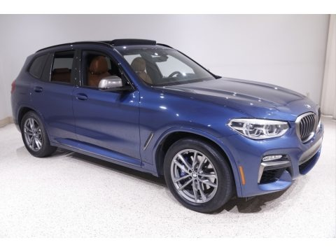 Phytonic Blue Metallic 2019 BMW X3 M40i