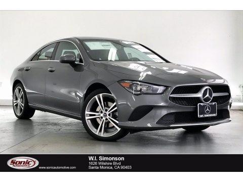 Mountain Gray Metallic 2021 Mercedes-Benz CLA 250 Coupe