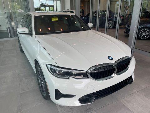 Alpine White 2021 BMW 3 Series 330i xDrive Sedan