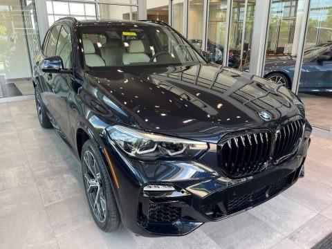Carbon Black Metallic 2021 BMW X5 M50i