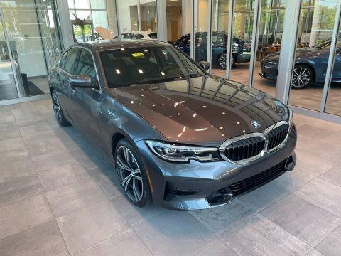 Mineral Gray Metallic 2021 BMW 3 Series 330i xDrive Sedan