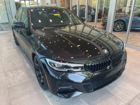 Black Sapphire Metallic 2021 BMW 3 Series 330i xDrive Sedan