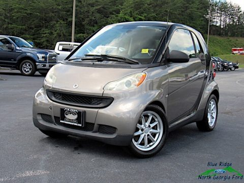 Gray Metallic 2009 Smart fortwo pure coupe