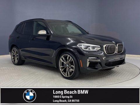 Black Sapphire Metallic 2020 BMW X3 M40i
