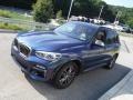 BMW X3 M40i Phytonic Blue Metallic photo #12