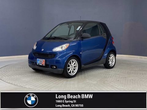 Blue Metallic 2010 Smart fortwo passion coupe