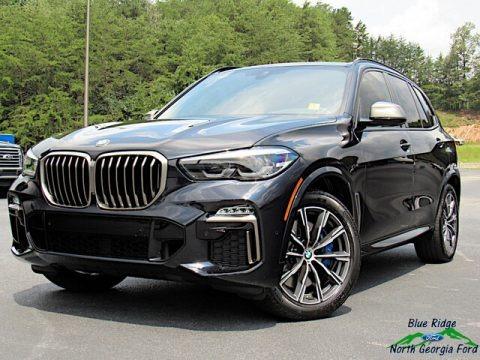 Carbon Black Metallic 2020 BMW X5 M50i
