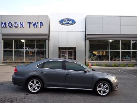 Platinum Gray Metallic 2014 Volkswagen Passat TDI SE