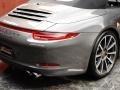 Porsche 911 Carrera 4S Cabriolet Agate Grey Metallic photo #8